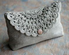 crochet and linen