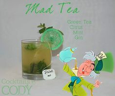 Disney cocktail Mad hatter