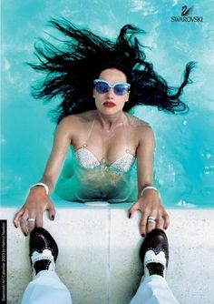Helmut Newton, pool
