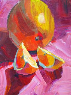 Orange On Pink (SOLD)