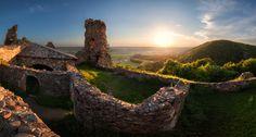 CHKO Železné hory - zřícenina hradu Lichnice (foto: Jan Šafár)