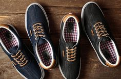 ab31385d5c it s what s on the inside that counts. Denim Sneakers