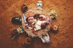 Baby Luke Skywalker and the Star Wars Universe - 37 Newborns Wearing Adorable Geek Baby Clothes Is Going to Melt Your Geeky Heart