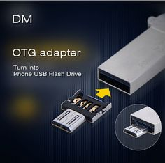 USB disk OTG adapter can solve those problems. The super compatibility supports all OTG phones and U disk. It compatibles with all USB flash drives, smart phones/tablet PC with OTG function and Micro USB. Usb Flash Drive, Usb Drive, Wholesale Cell Phones, Mobile Offers, Small Computer, Usb Stick, Newest Cell Phones, Tablet Phone, Smartphone