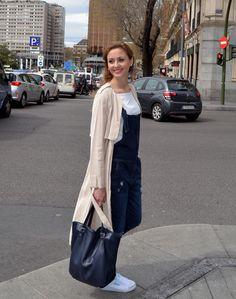 Denim tenis dunlop - Ecoblogger Cristina Carrillo Denim girl #kissmylook