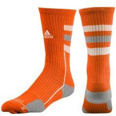adidas Team Speed Crew Sock - Men's - Basketball - Accessories - Light  Orange/Aluminum