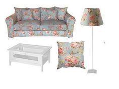 Voltando à Tok, eles tem um conjunto lindo de ítens Zelda: almofadas, assentos de cadeira, cúpula de abajour, porta-retrato… E o sofá Zelda! Esse é realmente o sonho de consumo de uma sala romântica!