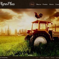 Agriculture Premium Moto CMS HTML Theme