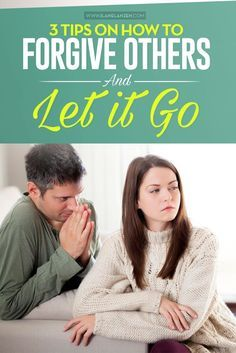 Let it go! It can seem easier said than done in many cases. Yet, forgiving others and letting it go will impact your life in a positive way, so it is something that we should all strive to do on a day to day basis | http://www.ilanelanzen.com/personaldeve