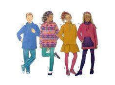 Girls Boys Elastic Waist Pants Fleece Top by PitterPatternPlace