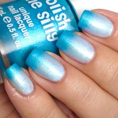 NEW-Sea Splash Color Changing Thermal Nail by PolishMeSilly