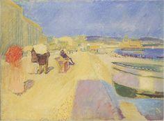 Edvard Munch 1863-1944 La promenade des Anglais 1852