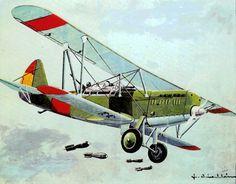 Polikarpov R-2 Natacha in the SCW