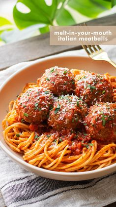 Meatball Recipes, Meat Recipes, Cooking Recipes, Healthy Recipes, Easy Meatball Recipe, Best Italian Meatball Recipe, Meatball Bake, Baked Dinner Recipes, Easy Cooking