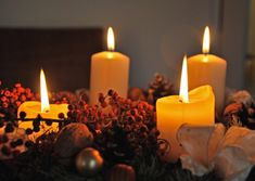 Free Image on Pixabay - Candles, Advent Wreath, Advent Cities In Germany, Advent Wreath, Christmas Traditions, Free Pictures, Pillar Candles, Birthday Candles, Wreaths, Free Image, Holidays