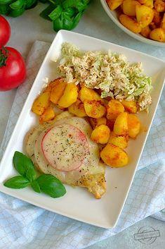 Filet z kurczaka z szynką i serem Deli Food, Yams, Mozzarella, Food And Drink, Meat, Chicken, Kitchen, Recipes, Beef