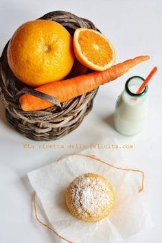 La ricetta della felicità: Muffins arancia, carote e mandorle !
