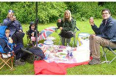 The Big Jubilee Party at Hubbard's Hills in Lincolnshire was cancelled due to the rain