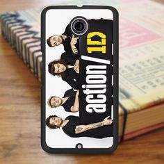 1d One Direction Action Nexus 6 Case