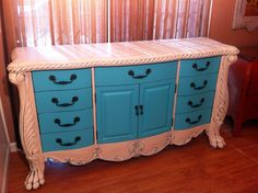 Painted Dresser by A to Z Custom Creations