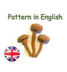 Pattern armillaria  * crochet armillaria * crochet mushroom #Pattern #crochet #mushroom #amigurumi #armillaria