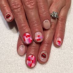 Mix & Match Color Blocking  inspired by @misaki_ii #nailart #gelnails #heynicenails #longbeach #nicenailsfornicepeople #saramlyons