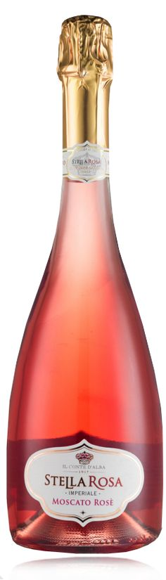 """RSantos **MOSCATO ROSE** (a unique """"semi sweet"""" wine with light effervescence and approachable sweetness)"""