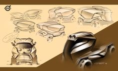 Volvo Truck concept - sketch 2 Marco Gianotti
