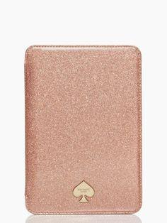 mini ipad folio hardcase glitter bug - kate spade -- I think I want an iPad mini just for this case..I just wish they had one for the iPad Air
