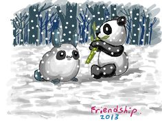 Friendships ( Bamboo paper )