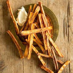 Make crunchy sweet potato fries yourself - Essen herzhaft - Fish Recipes Tilapia Fish Fry Recipe, Tilapia Recipes, Fried Fish Recipes, Veggie Recipes, Quick Dinner Recipes, Clean Recipes, Clean Foods, Lemon Fish, Fish Varieties