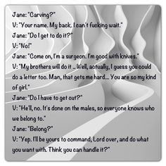 Vishous and Jane (Lover Unbound - Black Dagger Brotherhood by J R Ward)