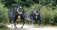 Run! DARPA's LS3 robot mule follows you around | Crave - CNET