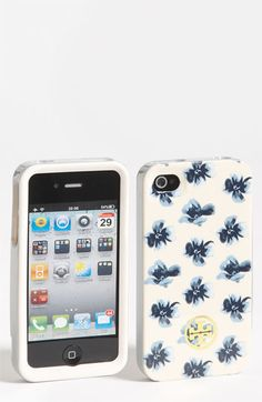 Tory Burch Floral iPhone 4 & 4S Case
