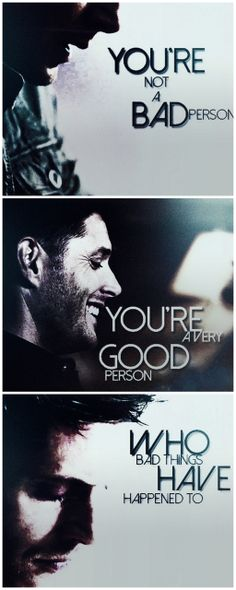 """""""I try to be that good person you've always wanted, but I can't, I'm not. I've done, I do, bad things. It's who I am. I'm a bad person."""" He sighed and I shook my head. """"You are not a bad person. You are a very good person."""" I smiled, taking his hands in mine. """"Who bad things have happened to. It's not your fault that they were trying to kill you. You had to act."""" I reasoned and he nodded. """"I just wish there was another way. I don't want to watch people die anymore,"""" He explained and I nodded…"""