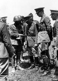 The Romanian prime minister Ion Antonescu and King Michael I of Romania during an inspection of the units besieging Odessa October 1941 Michael I Of Romania, Romanian Royal Family, World War Ii, Wwii, Military, Science, Prime Minister, Descendants, Image