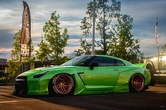 Rocket Bunny Nissan GT-R @mareikefox Z_litwhips Skyline Gtr, Nissan Skyline, My Dream Car, Dream Cars, Nissan Gtr Wallpapers, Gtr 35, Nissan Gtr R35, Exotic Sports Cars, Toyota
