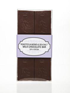 Roasted Almond & Sea Salt Chocolate Bar