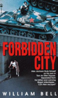 PBHF F BEL Forbidden City. Seventeen-year-old Alex Jackson comes home from school to find that his father, a CBC news cameraman, wants to take him to China's capital, Beijing.  Once there, Alex finds himself on his own in Tian An Men Square as desperate students fight the Chinese army for their freedom.  Separated from his father and carrying illegal videotapes, Alex must trust the students to help him escape.