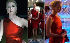 Emily's Red Dress on Revenge