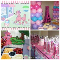 Image detail for -... : ~Birthday Party~ Glamour Girl Ooh La La!! A Pink Poodle in Paris