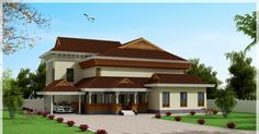 1x1.trans Traditional and Beautiful Kerala House Elevation at 3186 sq.ft