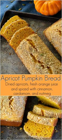 Hypoallergenic Pet Dog Food Items Diet Program Moist, Delicious, Fresh, Apricot Pumpkin Bread Is Like No Other Pumpkin Bread Recipe You've Had. Best Bread Recipe, Quick Bread Recipes, Baking Recipes, Apricot Dessert, Apricot Recipes, Apricot Bread Recipe, Sprinkles, Feel Good Food, Homemade Snickers