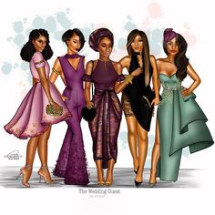Black Love Art, Black Girl Art, Black Girls Rock, Black Is Beautiful, Black Girl Magic, Fashion Design Drawings, Fashion Sketches, Black Queen, Black Art Pictures