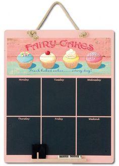 Google Image Result for http://www.southwestpine.co.uk/webupload/SWPINE/CUSTOM/BOOTH-CHALK-BOARDS/LARGE/pink-fairy-cakes-days-of-the-week.jpg