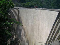Verzasca Dam, Val Verzasca, Switzerland