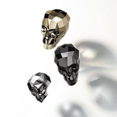 Swarovski®️ Crystal Skull Beads - I just love them✨💀✨ Available & in-stock in every size & colour made by Swarovski in retail & wholesale packs.. . .  Authorised Swarovski®️ Wholesaler, we only supply 100% genui