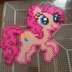 MLP Pinkie Pie perler beads by calbs23