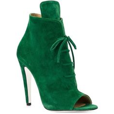 52 Stiletto Boots That Will Make You Look Cool - New Shoes Styles & Design Pretty Shoes, Beautiful Shoes, Bootie Boots, Shoe Boots, Ankle Booties, Suede Booties, Zapatos Shoes, Shoes Sandals, Green Shoes