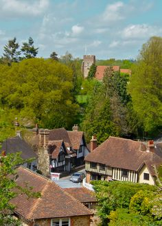 Ightham, a historic village by Mary Allwood